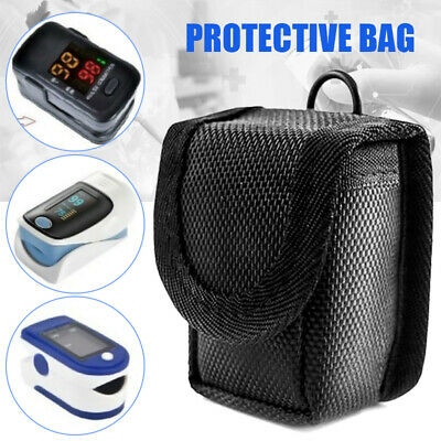 Finger Pulse Oximeter Pouch Storage Pack Carrying Case Protective Bag