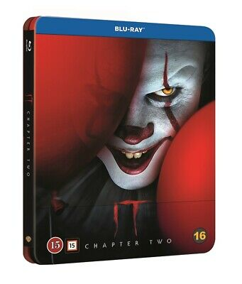 IT Chapter 2  Limited Edition Steelbook Blu Ray