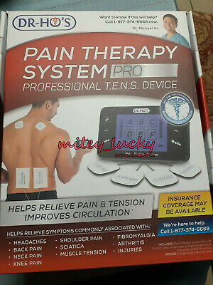DR-HO'S Pain Therapy System Pro TENS Unit & EMS for Pain Relief Pain Management
