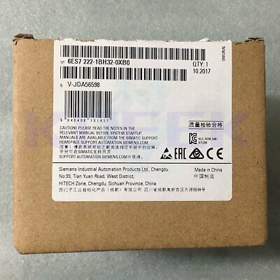 Siemens PLC module 1pc new 6ES7 222-1BH32-0XB0 fast delivery