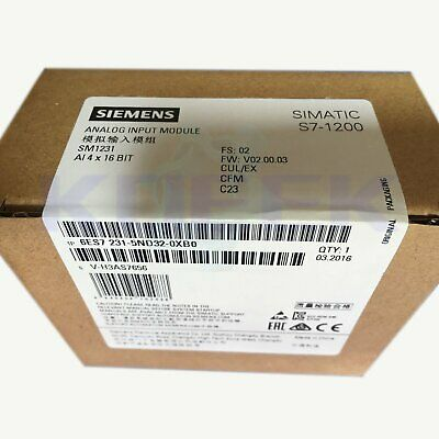 Siemens PLC analog module 1pc new 6ES7 231-5ND32-0XB0 fast delivery