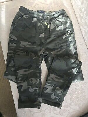 Boys Next Camouflage Trousers 12 Years - Worn Once