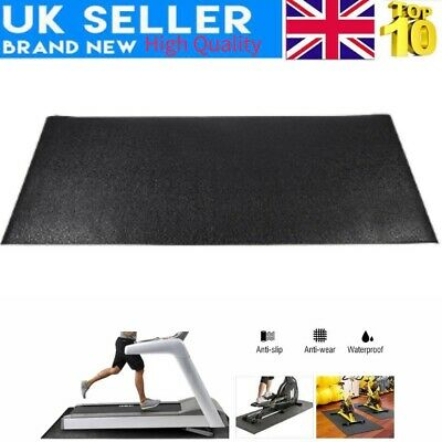 Shock Resistant Gym Floor Protector Treadmill Mat for Treadmill/Cross Trainer UK