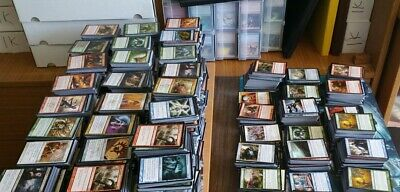 Lote 500 Cartas Magic The Gathering Bulk Lot Of Cards Rare Infrecuentes Mtg Pack