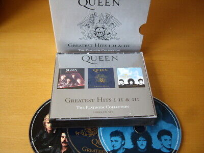 Queen - The Platinum Collection 3-Cd: Greatest Hits I Ii Iii Fat Case