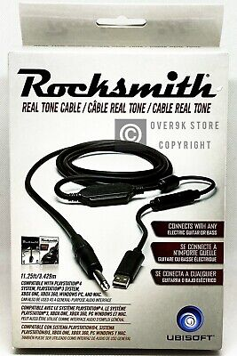 Rocksmith 2014 Real Tone Cable Trilingual - Brand New - NO GAME INCLUDED