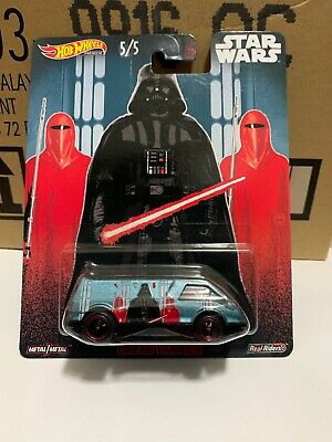 2019 Hot Wheels Pop Culture Star Wars Dream Van Xgw Darth Vader