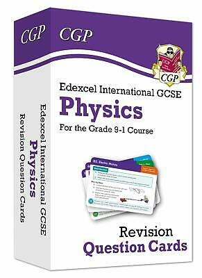 New Grade 9-1 Edexcel International GCSE Physics Revision Question Cards CGP I