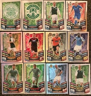 Spl Match Attax 2012/2013 Mom, Star Player, 100 Club, Limited Edition Cards