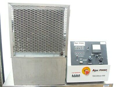 Ajax Tocco TOCCOtron 400 10Kv Induction Heater Power Supply + Chiller System