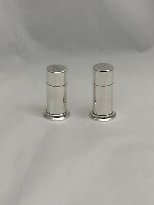 Authentic Tiffany & Co. Sterling Pair Salt And Pepper Shakers