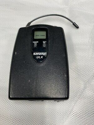 SHURE ULX1-M1 BODY PACK WIRELESS TRANSMITTER -  M1 BAND 662-698MHz ULX1