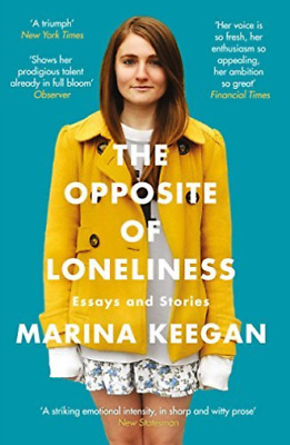 Keegan, Marina-Opposite Of Loneliness BOOK NUEVO