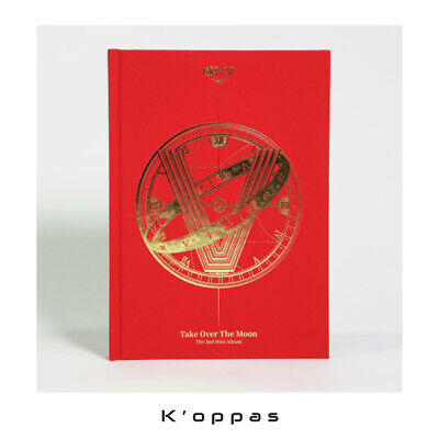 WayV 2nd Mini Album Take Over The Moon CD+P.Book+Photocard+Circle Card Kpop