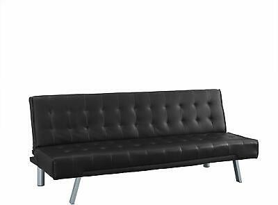 3-Seater Designer Faux Leather Sofa Bed Wood Sofa Bed For Every Occasion