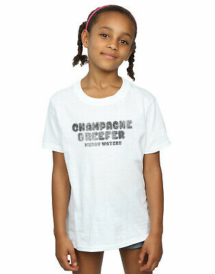 Muddy Waters Girls Champagne And Reefer Kaboom Distressed T-Shirt