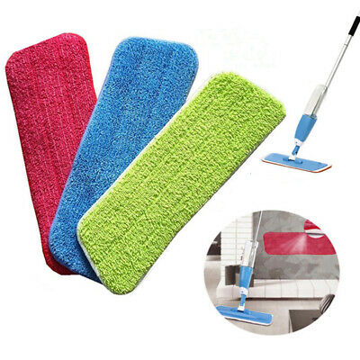 3pack/Microfiber Washable Mop Pad Floor Cleaning Mop Head Cloth Pad Pro Useful