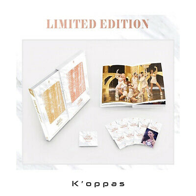 TWICE MONOGRAPH FEEL SPECIAL 150p Photo Book+9ea Photocards Pre-Order