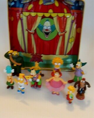 The Simpsons Collector's tin Special Edition with 10 plastic figures