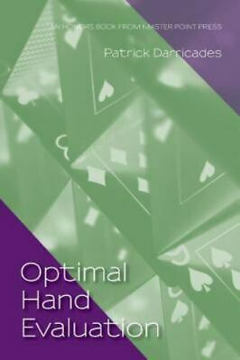 Optimal Hand Evaluation: An Honors Book from Master Point Press, Brand New, F...
