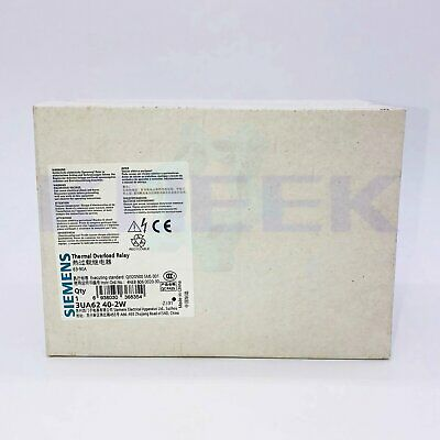 Siemens thermal overload relay 1pc new 3UA6240-2W fast delivery