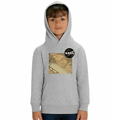 Nasa Curiosity Children's Unisex Grey Hoodie