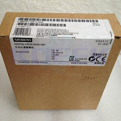 Siemens CPU module 1pc new 6ES7 317-2AK14-0AB0 fast delivery