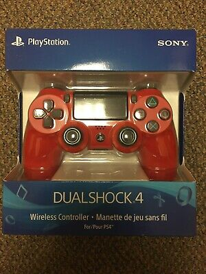 SONY PlayStation 4 Dualshock Wireless Controller - Red