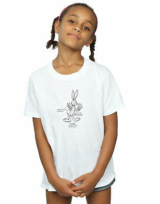 Looney Tunes Girls Bugs Bunny White Belly T-Shirt