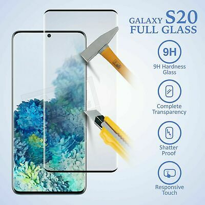 Samsung Galaxy S10e S10 Plus Tempered Glass Screen Protector Film 6D Curved