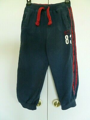 Boys Blue Pull Up Joggers Age 2 - 3 years