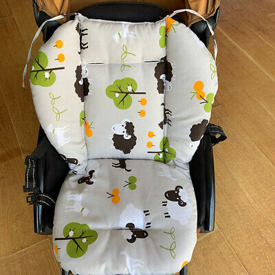 Car Stroller Seat Covers/Auto Soft Thick Pram Cushion Car Seat Pad for Kids