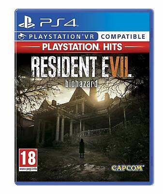 NEW & SEALED! Resident Evil 7 Hits Sony Playstation 4 PS4 Game