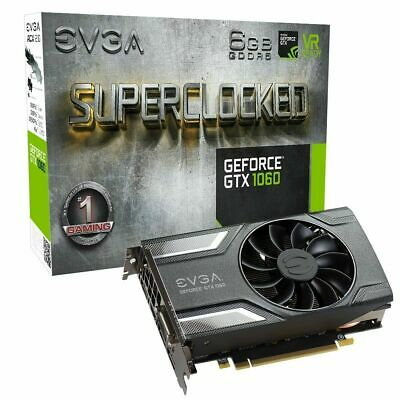 EVGA GeForce GTX 1060 SC GAMING, ACX 2.0 (Single Ventola), 6GB GDDR5