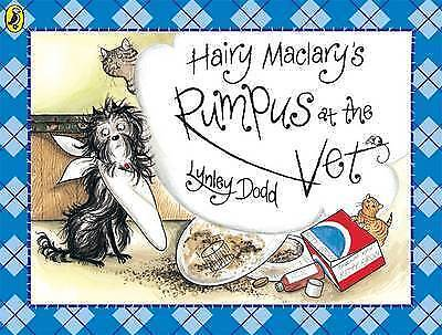 Hairy Maclary's Rumpus At The Vet By Lynley Dodd NEW (Paperback) Childrens Book