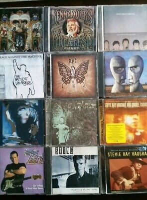 CDs ROCK COUNTRY POP METAL & MORE YOU CHOOSE BUY MORE AND SAVE UPDATED 1/15