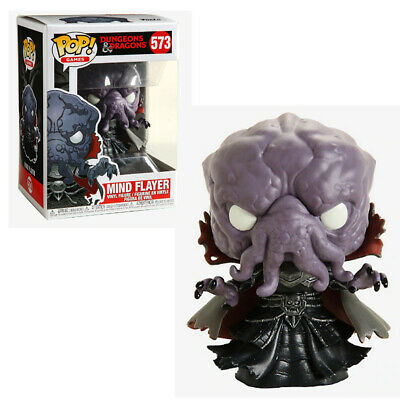 "New Funko Pop! Games 573 Dungeons & Dragons Mind Flayer 3.75"" Vinyl Figure"