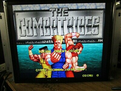 Combatribes By Technos Jamma PCB Arcade Game Board Working