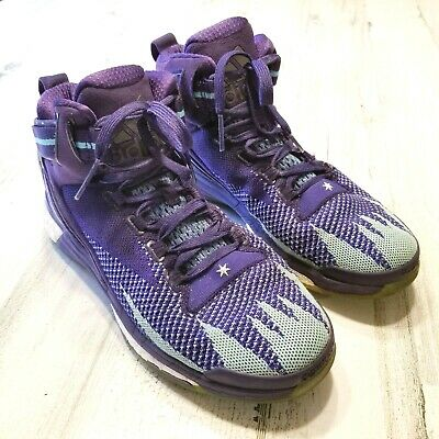 ADIDAS D ROSE 6 Prime Knit Boost All Star Mens Sz 9 Purple