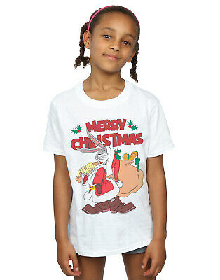 Looney Tunes Girls Santa Bugs Bunny T-Shirt