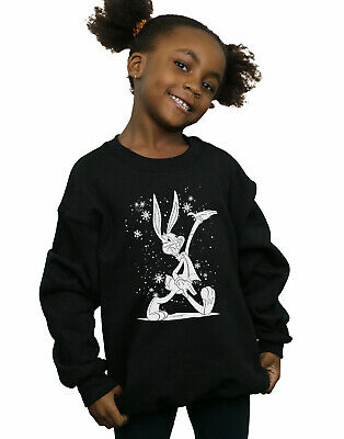 Looney Tunes Girls Bugs Bunny Let It Snow Sweatshirt