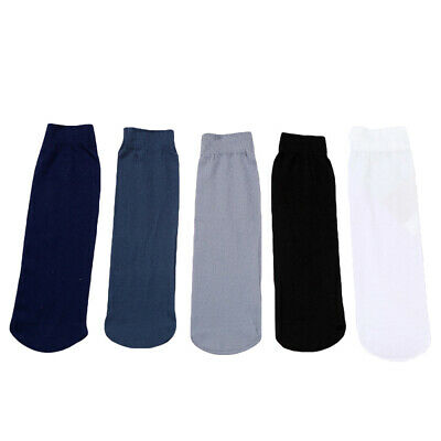 10Pairs Mens Disposable Try On Socks Casual Business Thin Short Socks Breathable