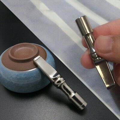 Titanium Cigarette Holder Reusable Filter Tobacco Gas Physical Filtration Tools