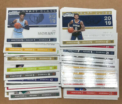 2019-20 Contenders NBA Basketball Draft Class Rookie Insert Card #1-30 You Pick!