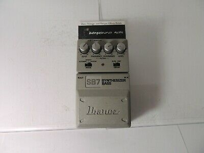 Ibanez SB7 Synthesizer Bass Synth Effects Pedal Free USA Shipping