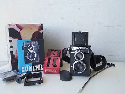 + LUBITEL  166+  UNIVERSAL    Lomo 6x6 TLR  Beautiful condition  fully working.