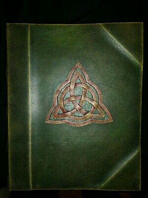 READY TO SHIP Fully Printed Charmed Inspired Book of Shadows Prop Replica
