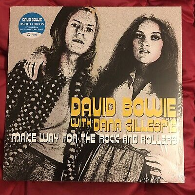 David Bowie/Dana Gillespie Make Way For The Rock And Rollers Lp 56/300 Blue Wax
