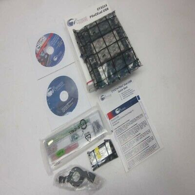 Cypress Perform Programmable CY3214 PSoCEval USB w/LCD Module + Kit