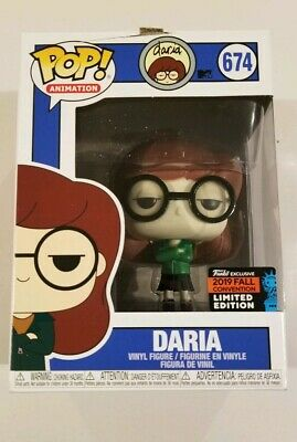 DARIA Funko Pop Animation #674 2019 NYCC Gamestop Exclusive *Damaged Box*